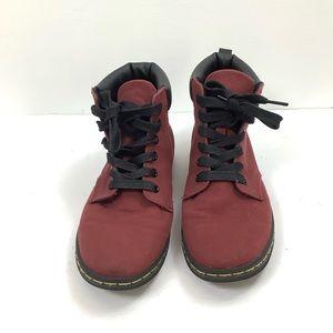 Dr. Marten - meally burgundy ankle boot